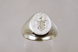 Gold Coat of Arms ring